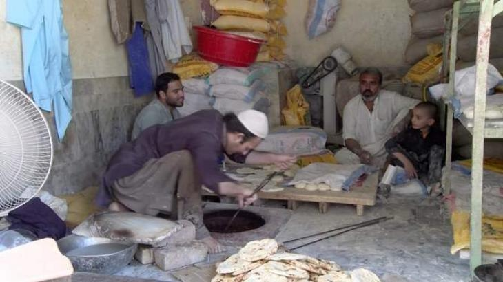 Flour crisis starts in KP