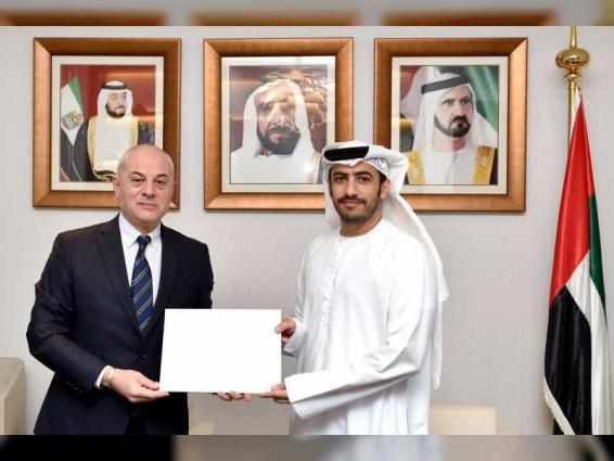 MoFAIC receives copy of credentials of new Georgian ambassador to UAE