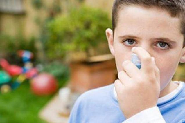 Asthma inhalers may suppress growth in kids