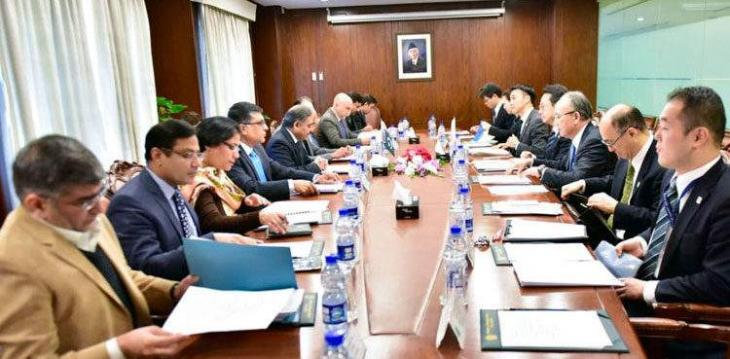 Pakistan, Japan hold talks to enhance cooperation in various fields