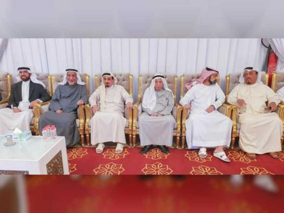 Ajman Ruler, CP offer condolences on death of Sheikha Hamda Al Ghurair