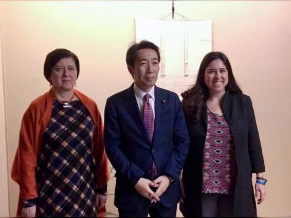 الرئيسان المشاركان في المفاوضات الحكومية المعنية بإصلاح مجلس الأمن يختتمان زيارتهما لطوكيو