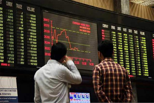 The Pakistan Stock Exchange (PSX) loses 400 points to close at 41,898 points
