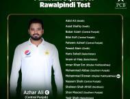 Pakistan names 16-player squad for Rawalpindi Test