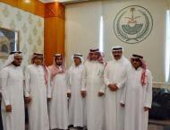 محافظ ينبع يلتقي رئيس مجلس إدارة جمعية ..