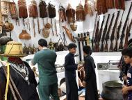 متحف جبل طلان يجذب زوار مهرجان البن السابع