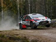 Toyota's Evans leads Rally of Sweden after opening day