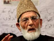 'India not allowing proper treatment to Syed Ali Gilani'