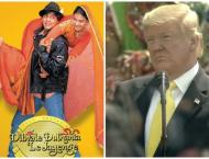 """US President mentions Shah Rukh Khan's movie """"Dilwale Dulhani .."""