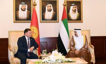 غباش يبحث مع رئيس برلمان قرغيزستان سبل ..