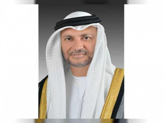 UAE supports all efforts to ensure permanent, comprehensive solution to Palestinian cause: Gargash