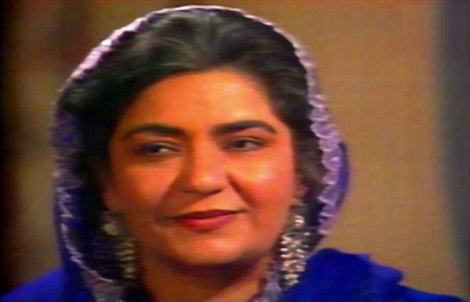"""وفاة ممثلة باکستانیة """" نیغات بات """" عن 72 عاما"""