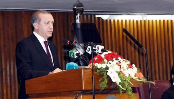 Turkish President to address joint session of parliament today