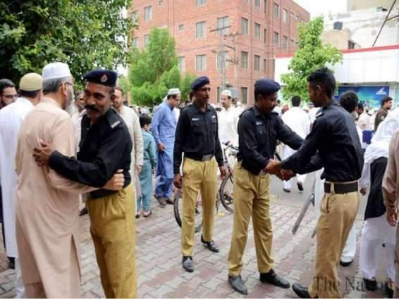 Police adopts strict security arrangements at Masques, Imambargahs, Churches