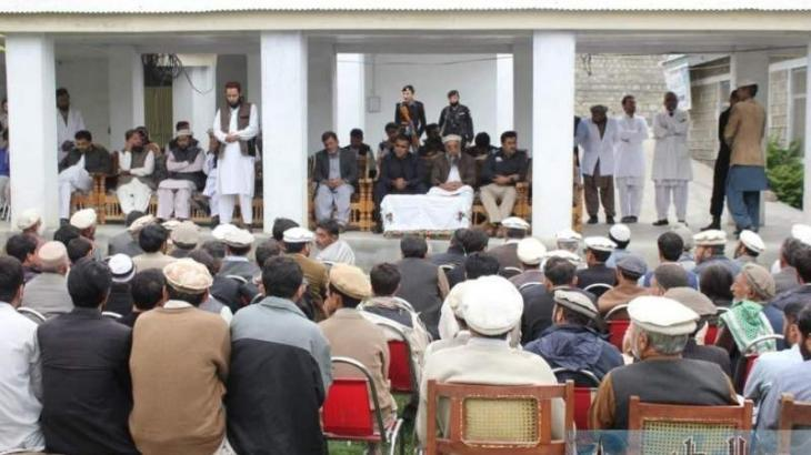 Distt admin holds khuli kutchery