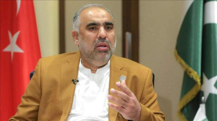 Pakistan enjoys historical relations with Turkey:National Assembly (NA) Speaker Asad Qaiser