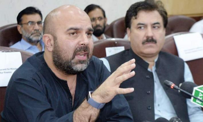 Health Minister, Taimour Salim Khan Jhagra inaugurates anti-polio campaign in KP