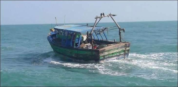 Pakistan Maritime Security Agency (PMSA) intercepts Indian boats operating into Pakistani waters