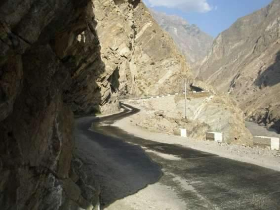 About 34 pc physical progress of Jaglot-Skardu Road achieved