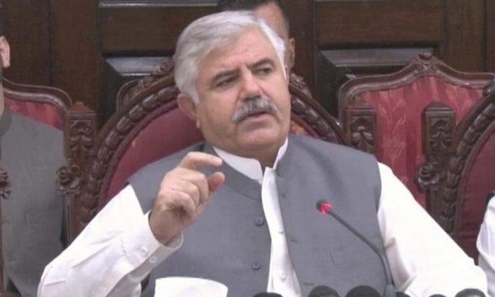 Chief Minister Khyber Pakhtunkhwa Mahmood Khan highly eulogized speech of Turkish President