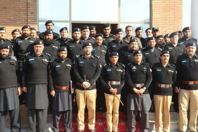 Inspector General of Police Khyber Pakhtunkhwa Sanaullah Abbassi  visits South Waziristan