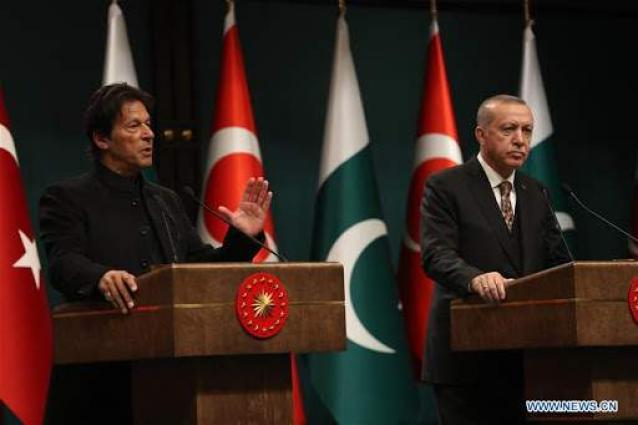 President Erdogan, PM Khan sign MoUs, address joint press conference