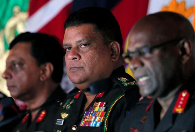 US bans visits by Sri Lanka army chief over war crimes