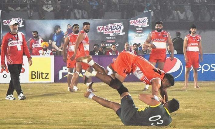 Pakistan, India win last pool matches of World Kabaddi Cup