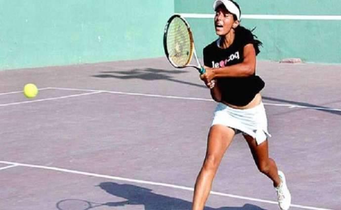 Sara Mahboob wins ladies tennis title
