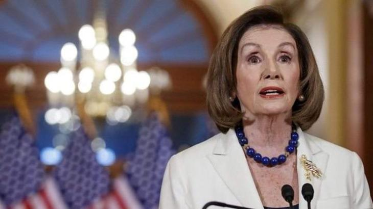 Pelosi Agrees With Trump on Threats of Cooperating With China's Huawei on 5G