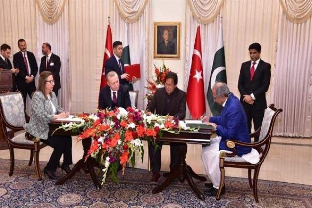 Pakistan, Turkey sign MoU for cooperation on Trade & Customs