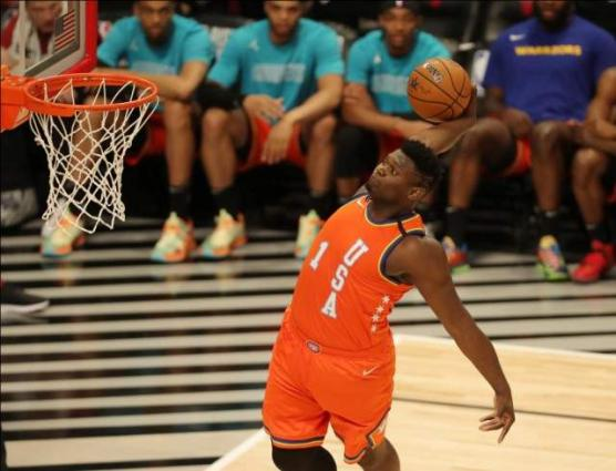 Team USA rallies to beat Team World in Rising Stars contest