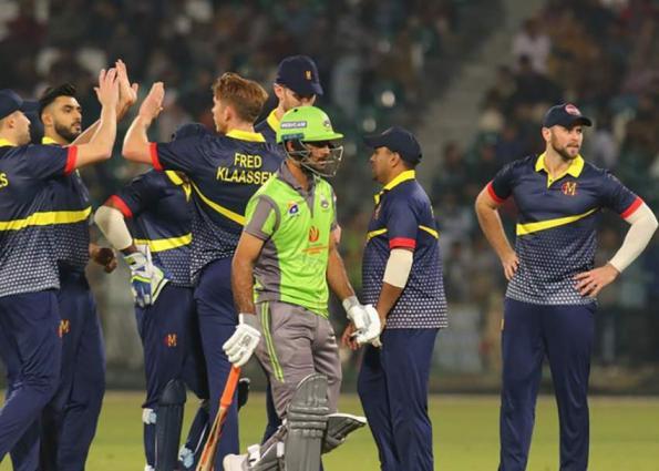 Marylebone Cricket Club beat Lahore Qalandars by four wickets