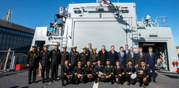 State-of-the-art 2300 tons Yarmook ship inducted into Pakistan Navy
