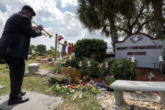 Parkland survivors remember friends two years after mass shooting