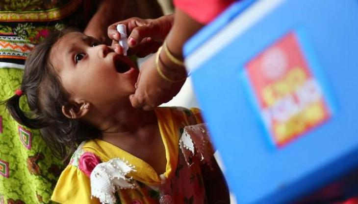 Provincial Minister for Public Prosecution Chaudhary Zaheer ud Din inaugurates anti-polio drive