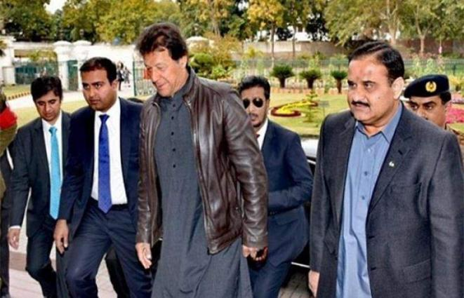 Prime Minister Imran Khan visits Safe City Authority Lahore