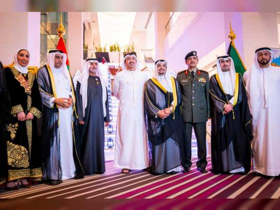 Abdullah bin Zayed attends Kuwaiti embassy's celebration of national day