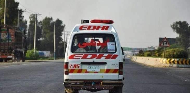 Woman killed in accident in Faisalabad