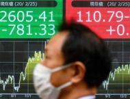 Milan stocks fall 3%