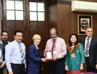 Ambassador of Hungary visits Government College University Lahore ..