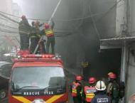 Fire in cotton factory in Hyderabad claims life of a labourer
