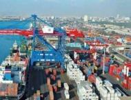 Shipping activity at Port Qasim 10 Mar 2020