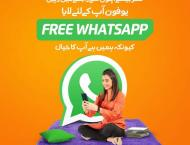 Ufone offers free WhatsApp to help you stay connected with your l ..