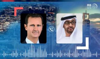 Mohamed bin Zayed, Syrian President discuss efforts to contain co ..
