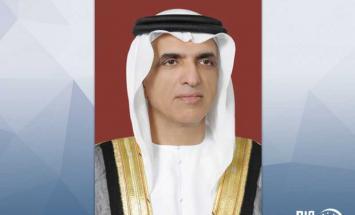 حاكم رأس الخيمة يعزي ملك البحرين بوفاة ..