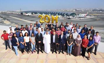 20 مليون عملية تنزيل لتطبيق طيران الإمارات