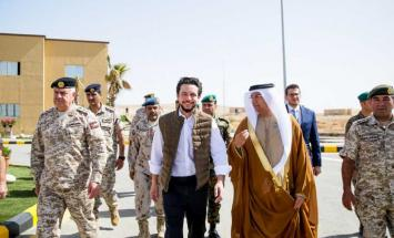 """ولي عهد الأردن يفتتح """"مدينة محمد بن .."""