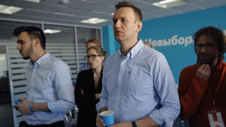 Kremlin Critic Navalny Says Personal Family Bank Accounts Frozen Urdupoint