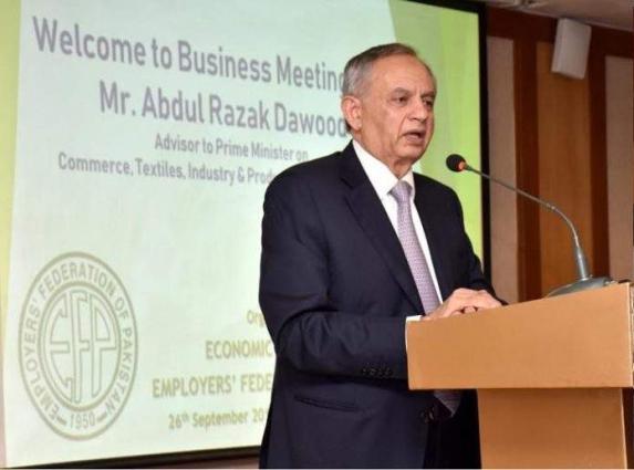 Industries being set up under CPEC in Gawadar will bolster export volume: Razak Dawood